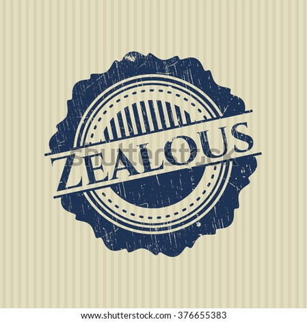 Zealous rubber stamp