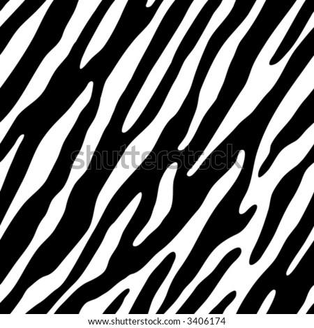 wallpaper zebra. Seamless vector wallpaper