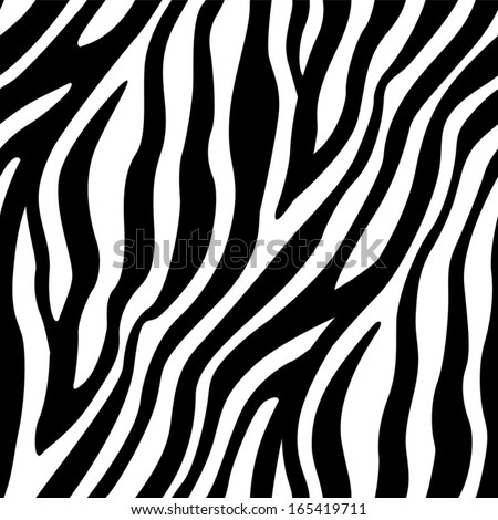 Stock Photo Zebra Stripes Seamless Pattern