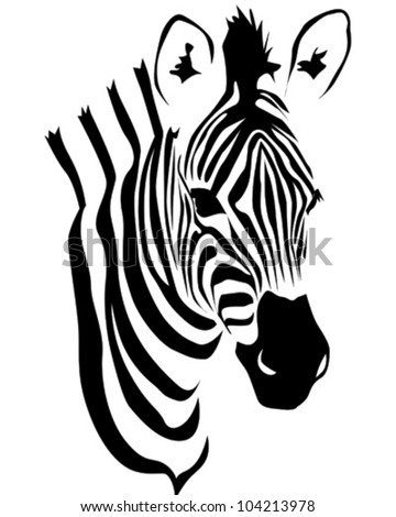 Zebra head vector free 123freevectors premium vectors sponsored results by shutterstock pronofoot35fo Gallery