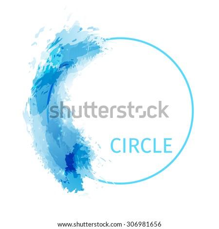 zen circle abstract modern