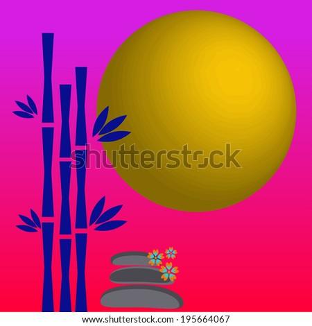 Zen spa concept background