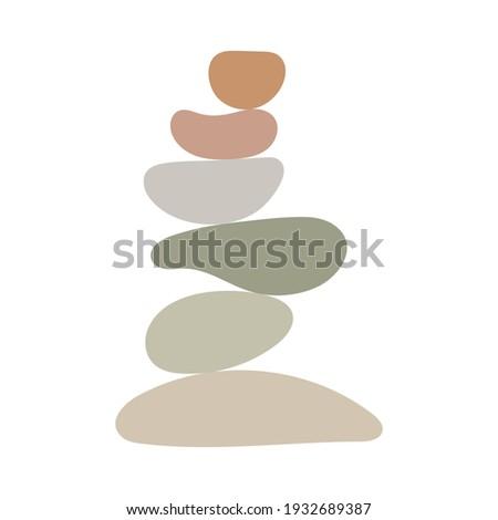 zen stones simple abstract