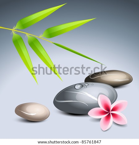 zen theme 2 with bamboo and