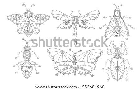 zenart insects clip art in