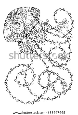 zentangle doodle patterned