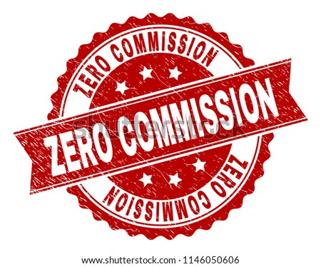 zero commission seal stamp with