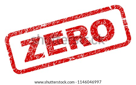 zero stamp seal watermark with