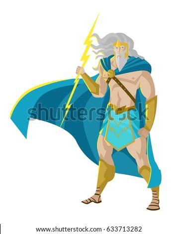zeus jupiter god of the thunder