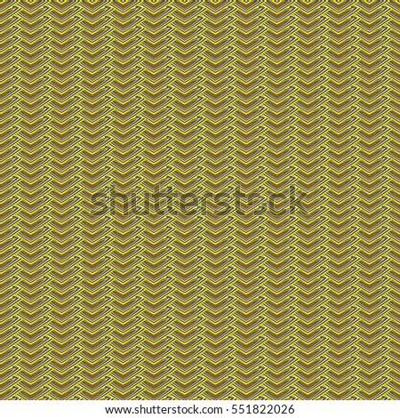 zig zag pattern gold seamless