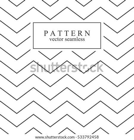zigzag seamless minimalistic