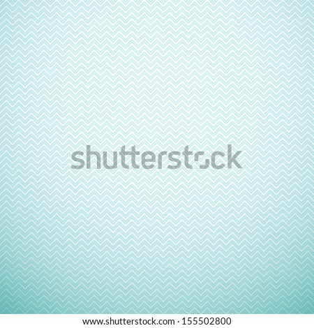 Zigzag seamless pattern. Vector illustration. Aqua, blue and white colors. Retro delicate chevron cloth texture background. Book and wall cover.