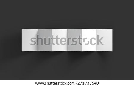 zigzag white 6 page brochure