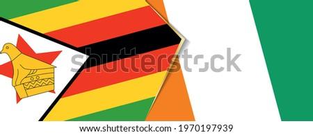 zimbabwe and ivory coast flags