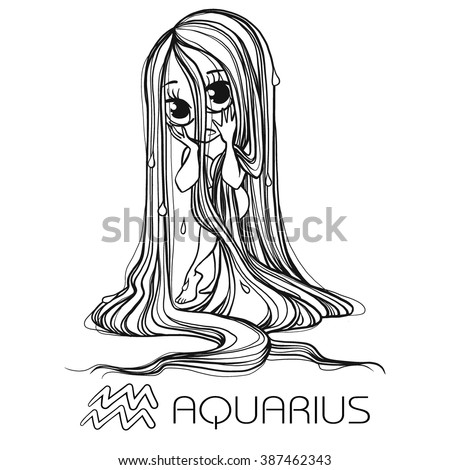 zodiac  aquarius astrological
