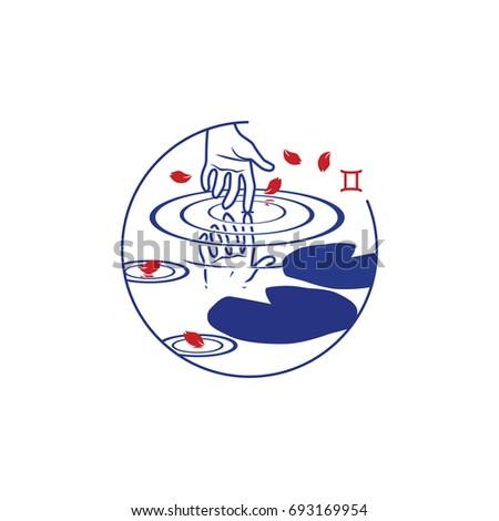 zodiac circle symbol gemini