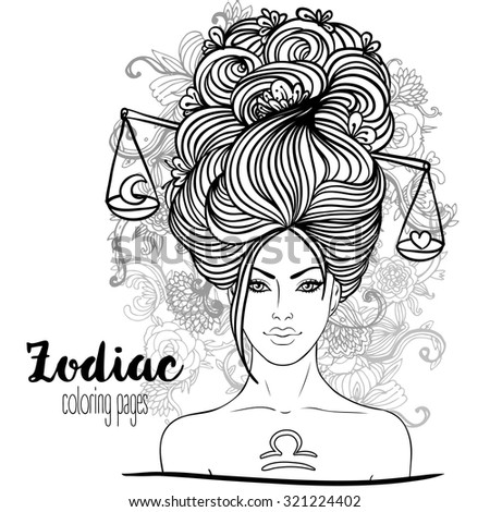 africain zodiac coloring pages - photo#8