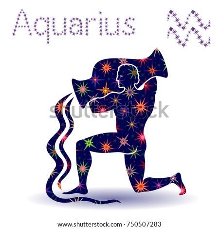 zodiac sign aquarius  hand