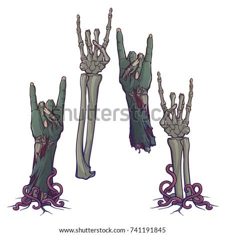 zombie body language sign of