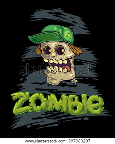 zombie vector illustration