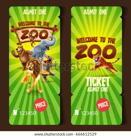 zoo ticket