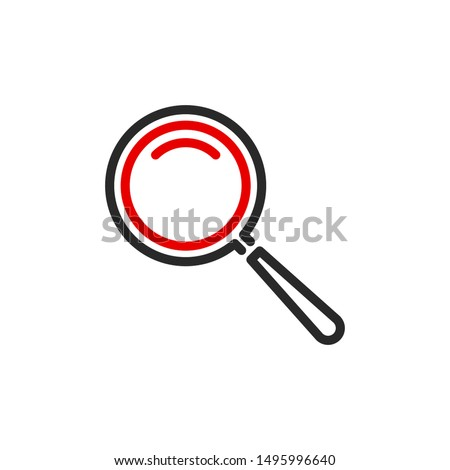 zoom scale with magnifier glass