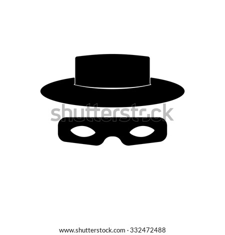 zorro mask icon