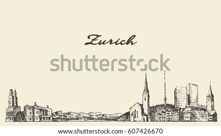 zurich landscape  switzerland