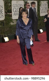 STOCKARD CHANNING at the 61st Annual Golden Globe Awards at the Beverly Hilton Hotel, Beverly Hills, CA. January 25, 2004