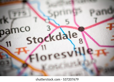 Stockdale. Texas. USA