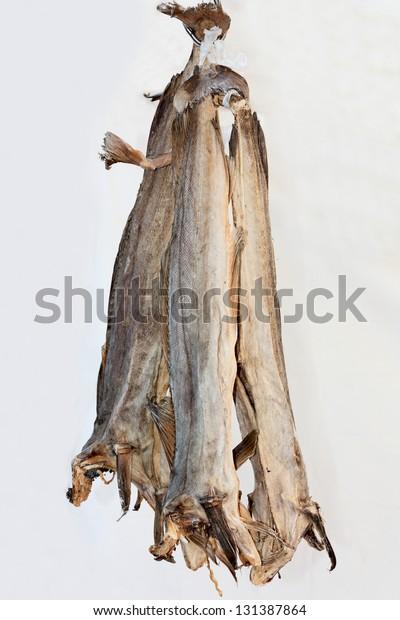 stockfish, norvegian dried cod fish