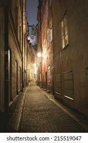 Stockholm city by night