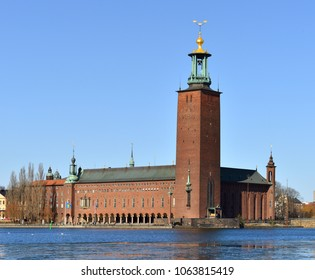Stockholm City Hall (1923), building of Municipal Council for City of Stockholm in Sweden. It stands on the eastern tip of Kungsholmen island