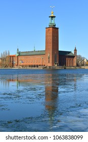 Stockholm City Hall (1923), building of Municipal Council for City of Stockholm in Sweden. It stands on the eastern tip of Kungsholmen island. Spring