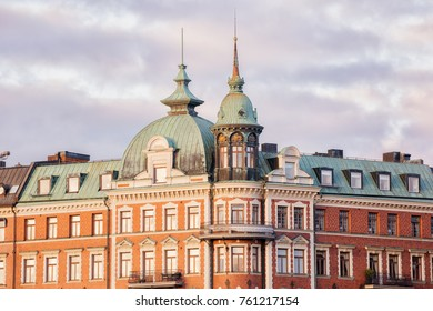 Stockholm city, old architecture.