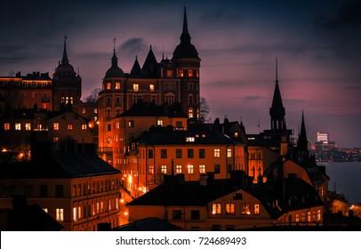 Stockholm at Dusk, Sweden
