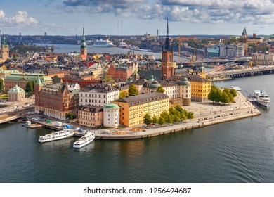 Stockholm. Island Gamla Stan.