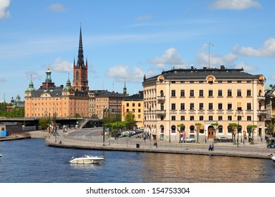 STOCKHOLM - MAY 30: People visit Old Town on May 30, 2010 in Stockholm, Sweden. Stockholm is the most visited and most populous city in Nordic countries.