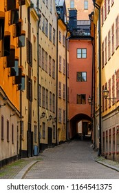 Stockholm. Streets of great scandic city.