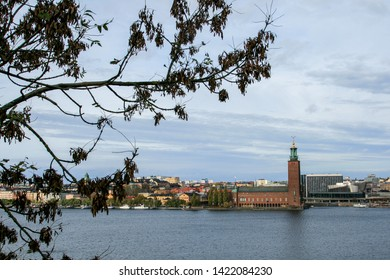 Stockholm, Sweden, 10/26/2014. Town Hall in Stockholm