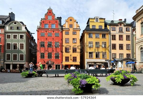 Estocolmo Suecia 18 De Julio Foto De Stock Editar Ahora 57924364
