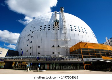 STOCKHOLM, SWEDEN – August 21 2016: Skyview for panoramic view at Ericsson Globe