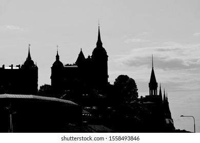 stockholm Sweden city view silhouette