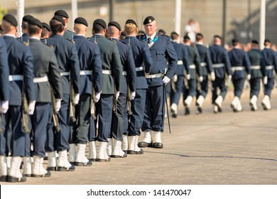 STOCKHOLM, Sweden - JUNE 8: The Royal Wedding between Princess Madeleine and Chris O´Neill and the Royal guards gathering. June 8, 2013, Stockholm, Sweden