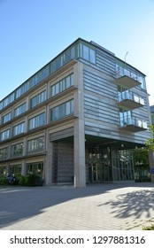 Stockholm, Sweden – May 18, 2018: Student Dormitory, Stockholm University, Stockholm, Sweden, Scandinavia, Europe