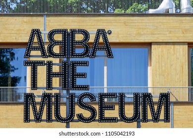 Stockholm, Sweden - May 31, 2018: Abba the museum at djurgarden.