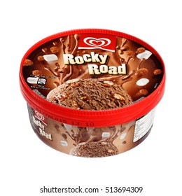 Rocky Road Ice Cream Stock Images Royalty Free Images
