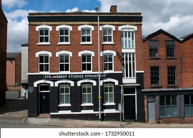Stockport, Greater Manchester UK. May 16, 2020. Strawberry Studios Stockport on Waterloo Road.