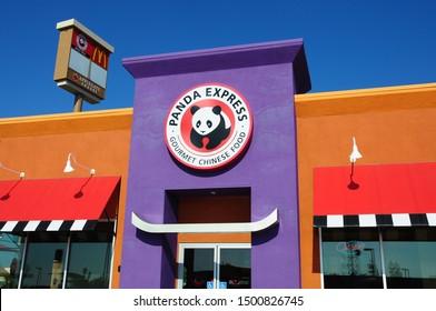 Stockton, CA/USA - Nov. 8, 2011: Panda Express branch fast food restaurant, Stockton, California.