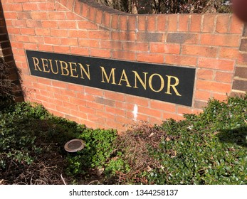 Stockton on tees, england march 20, 2019 photo of the ruben manor care home stockton on tees